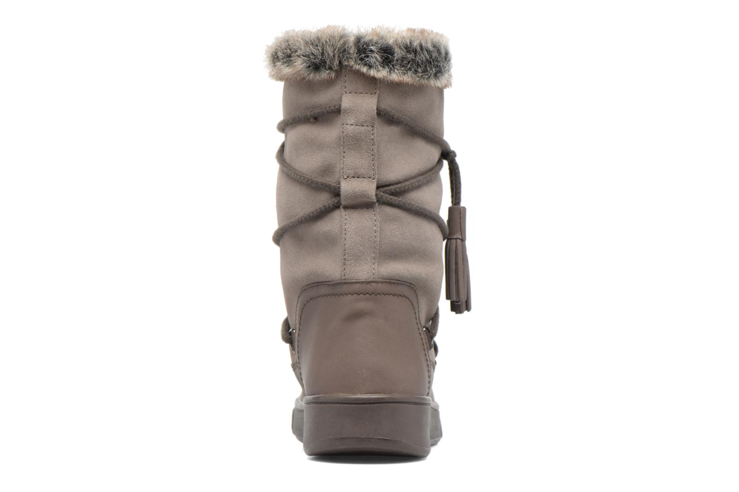 Boots & wellies Geox D Mayrah B Abx A D743MA Brown view from the right