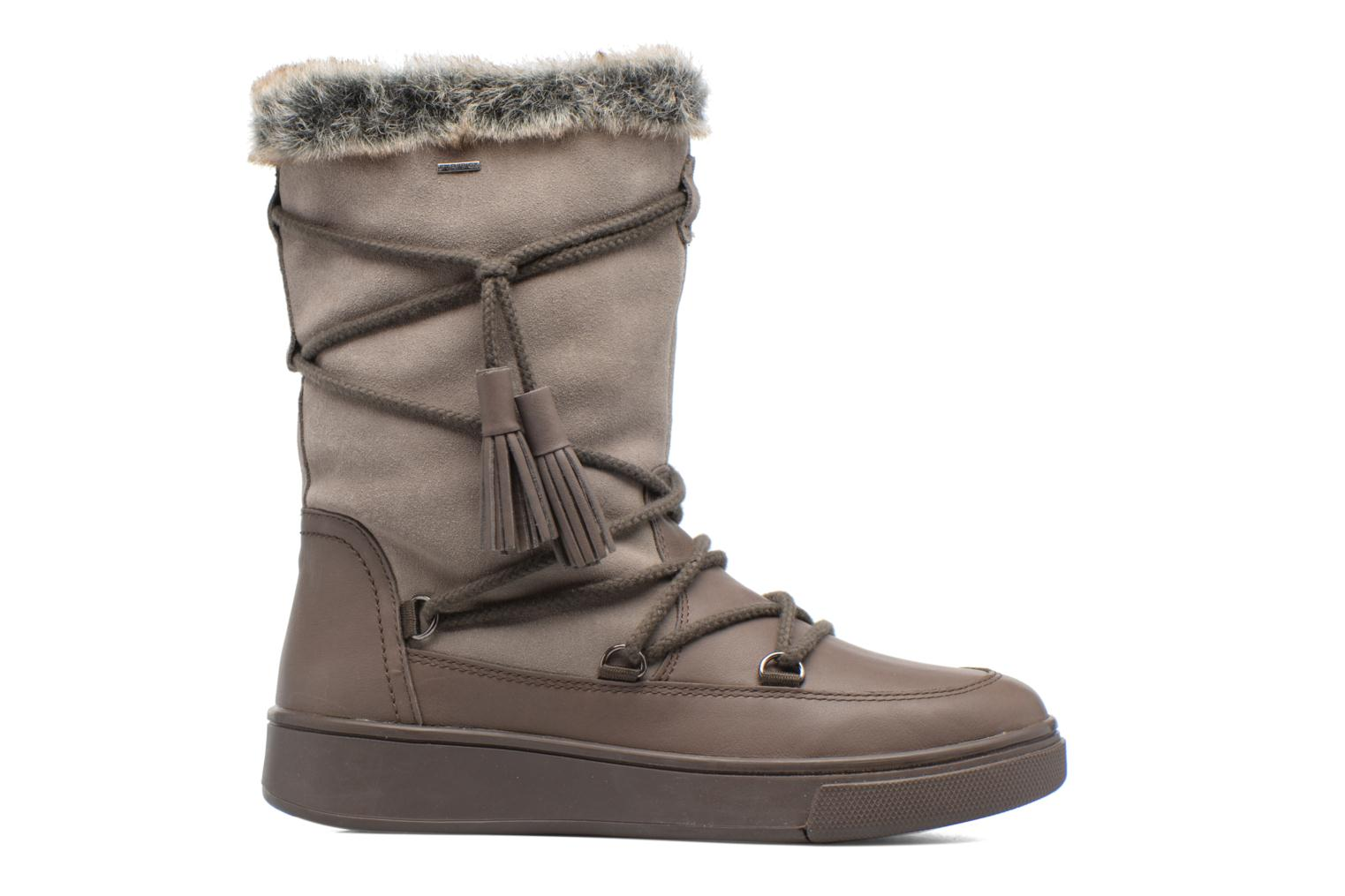 Boots & wellies Geox D Mayrah B Abx A D743MA Brown back view