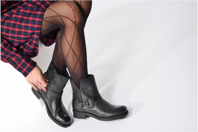 Boots en enkellaarsjes Geox D New Virna E D7451E Zwart onder