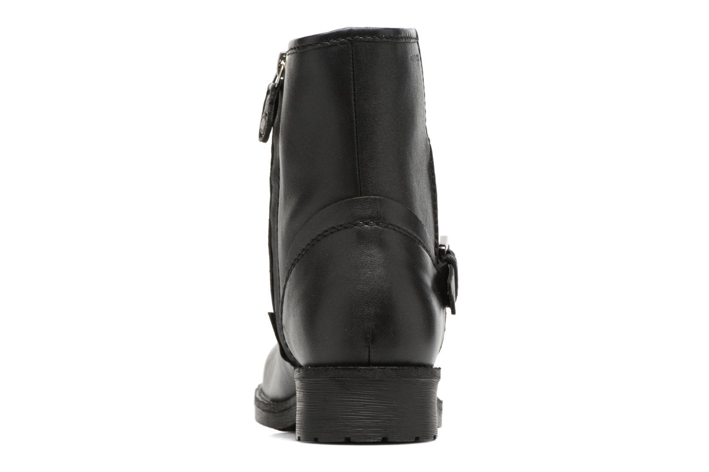 Boots en enkellaarsjes Geox D New Virna E D7451E Zwart rechts