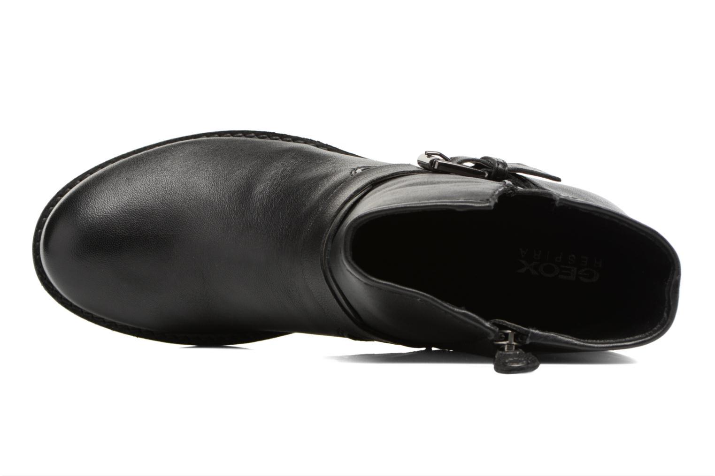 Boots en enkellaarsjes Geox D New Virna E D7451E Zwart links