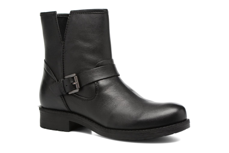 Boots en enkellaarsjes Geox D New Virna E D7451E Zwart detail