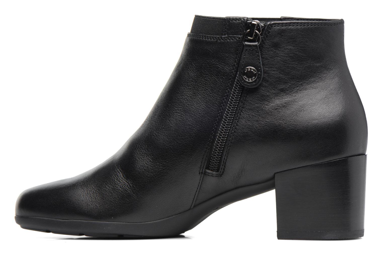 Bottines et boots Geox D Annya M. A D745VA Noir vue face