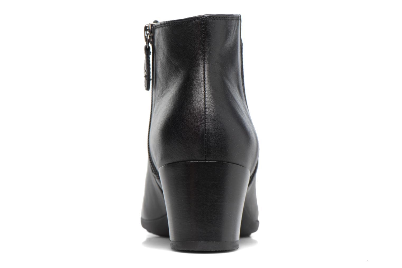 Bottines et boots Geox D Annya M. A D745VA Noir vue droite