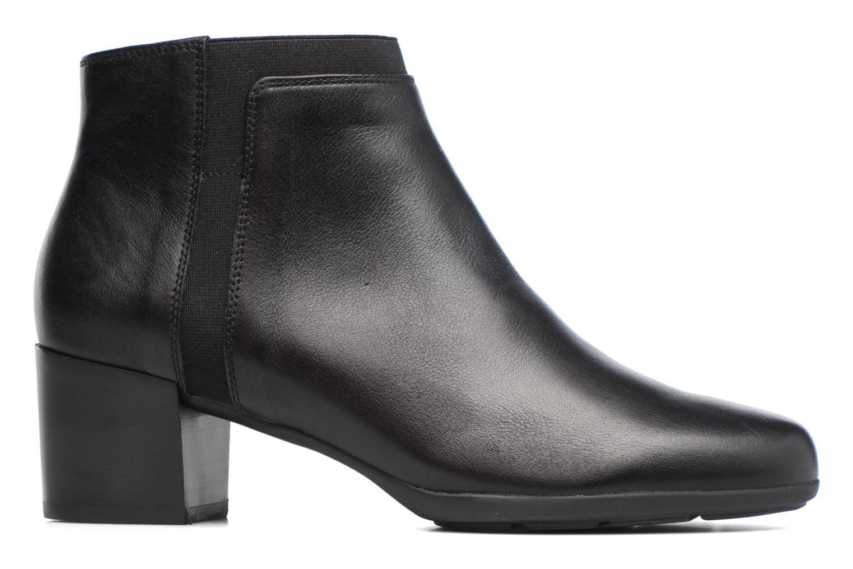 Bottines et boots Geox D Annya M. A D745VA Noir vue derrière