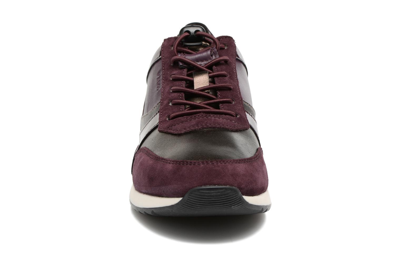 Baskets Geox D Deynna E D746FE Violet vue portées chaussures