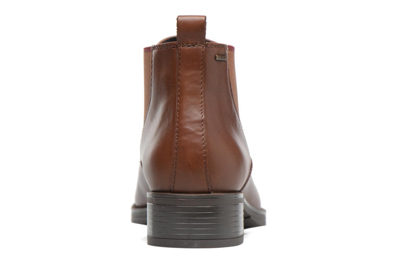 Bottines et boots Geox D Mendi Np Abx A D746SA Marron vue droite