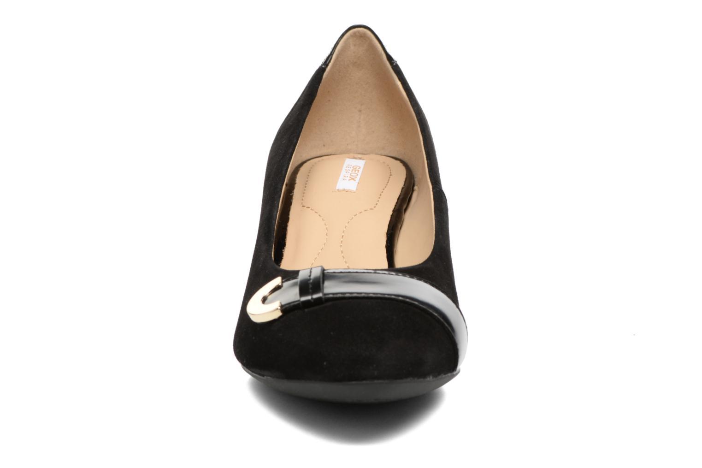Últimos recortes de precios Geox D Floralie A D74T4A (Negro) - Zapatos de tacón chez Sarenza