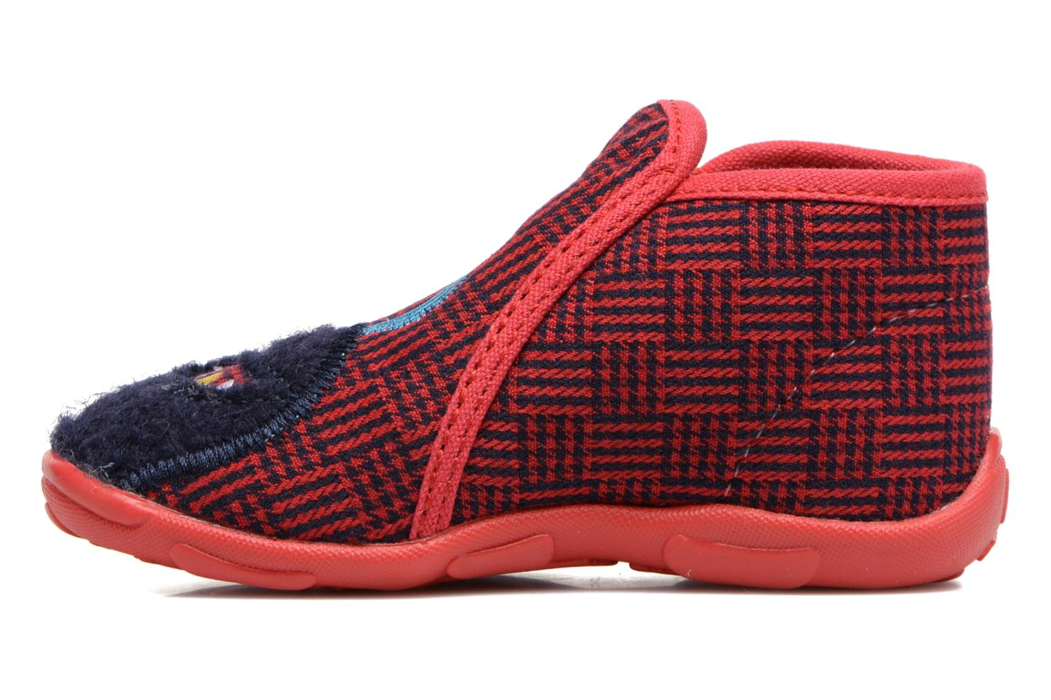 Chaussons GBB Paco Rouge vue face
