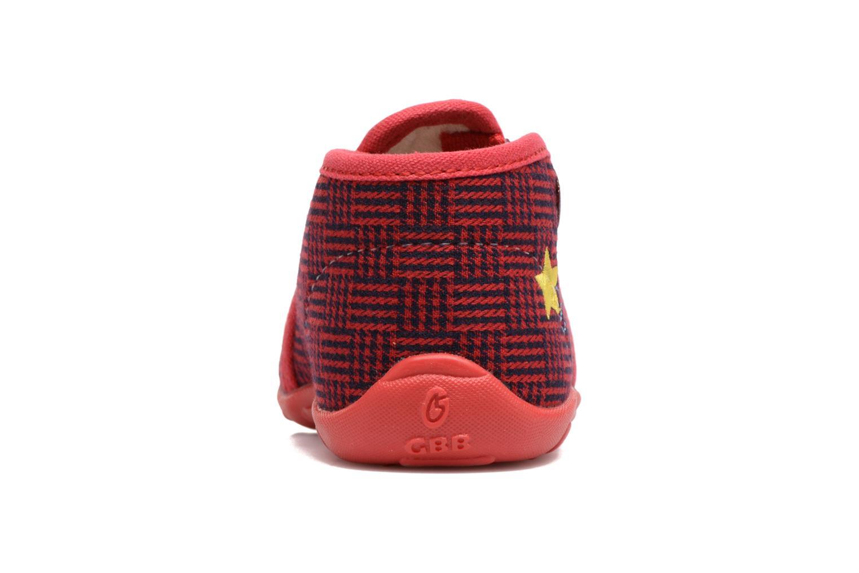 Pantofole GBB Paco Rosso immagine destra