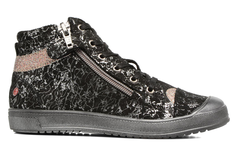 Sneaker GBB Destiny schwarz ansicht von hinten
