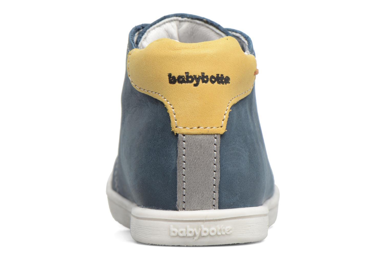 Bottines et boots Babybotte Footing Vert vue droite