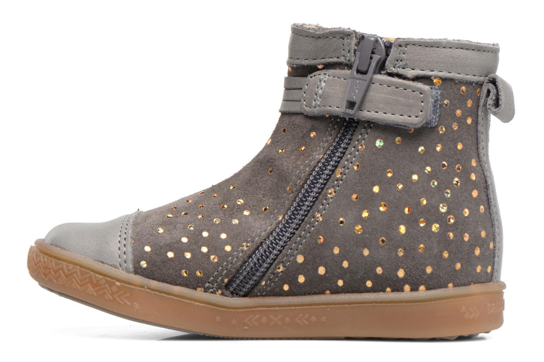 Boots en enkellaarsjes Babybotte Ambalada Grijs voorkant