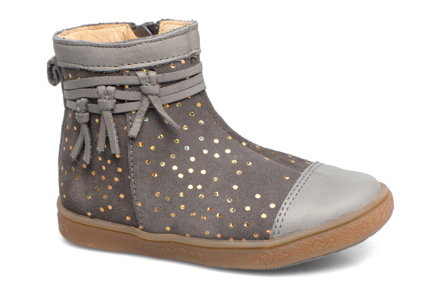 Ankle boots Babybotte Ambalada Grey detailed view/ Pair view