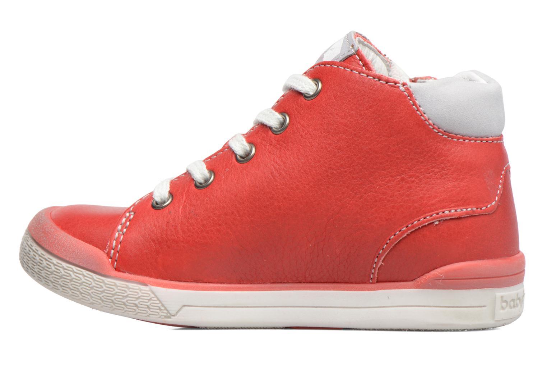 Sneakers Babybotte B3 Lacet Rood voorkant