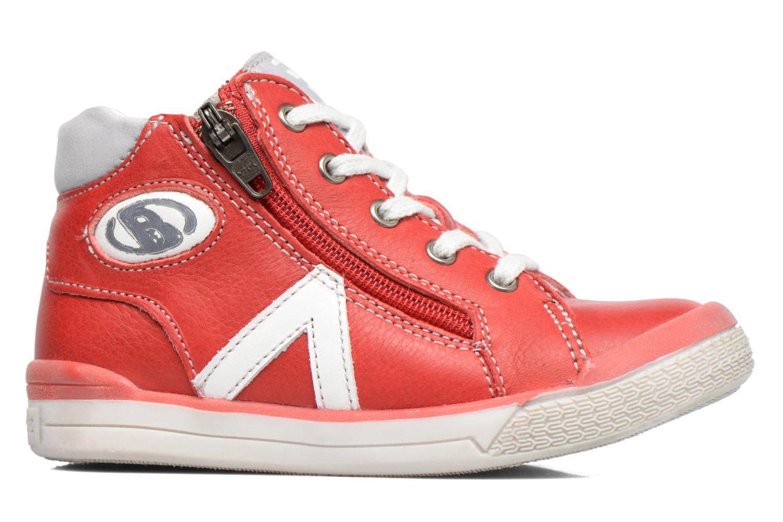 Sneaker Babybotte B3 Lacet rot ansicht von hinten