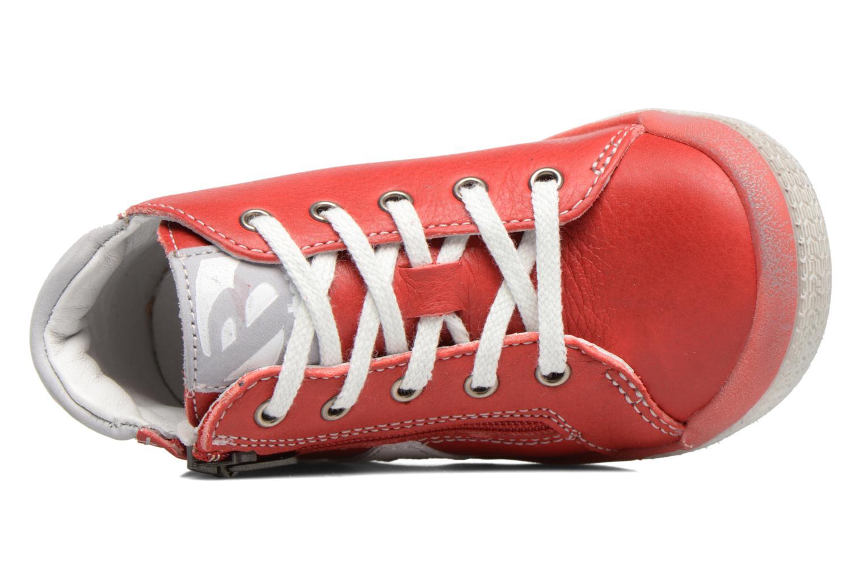 Baskets Babybotte B3 Lacet Rouge vue gauche