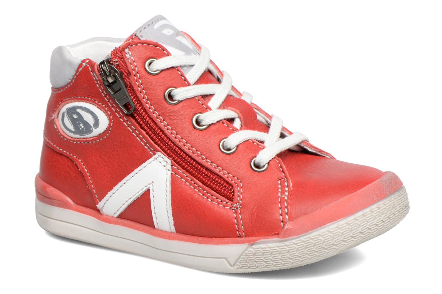 Sneakers Babybotte B3 Lacet Rood detail