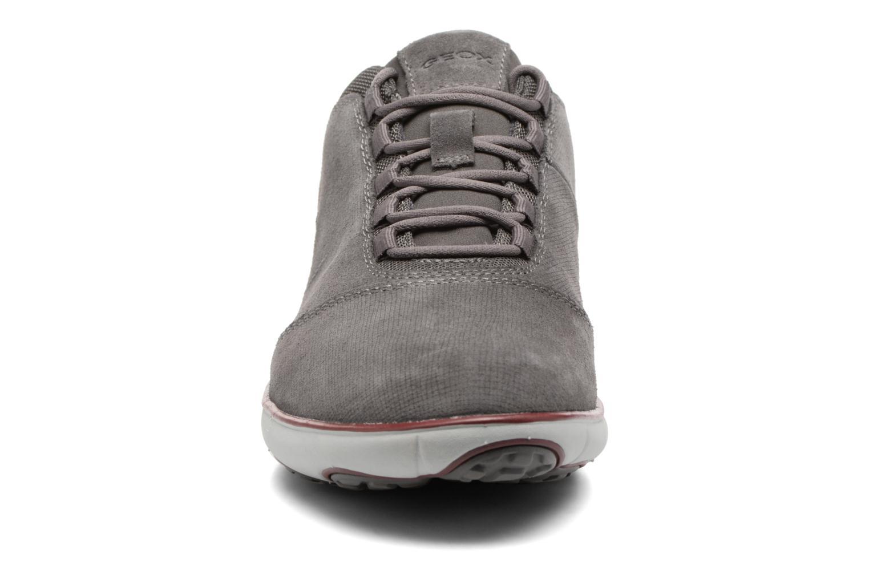 Baskets Geox U Nebula C U74D7C Gris vue portées chaussures