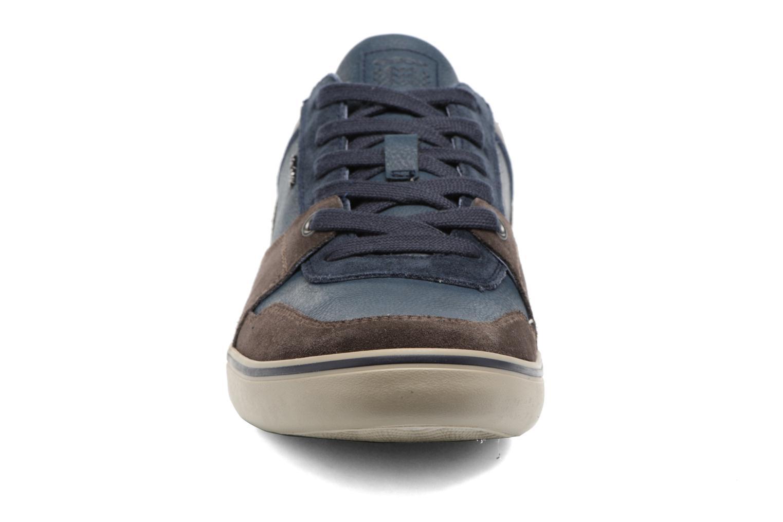 Baskets Geox U Box A U74R3A Marron vue portées chaussures