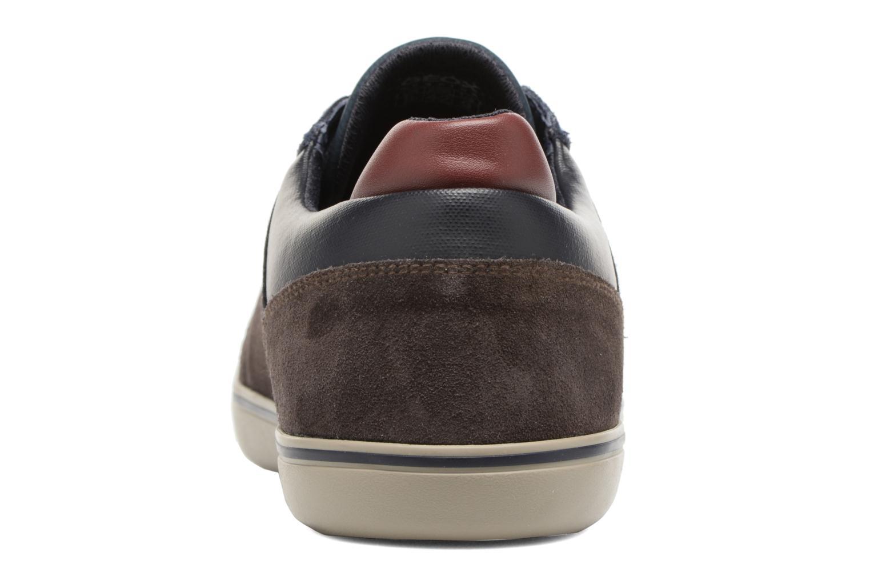 Sneakers Geox U Box A U74R3A Bruin rechts