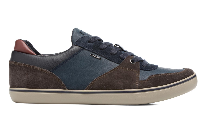 Sneakers Geox U Box A U74R3A Bruin achterkant