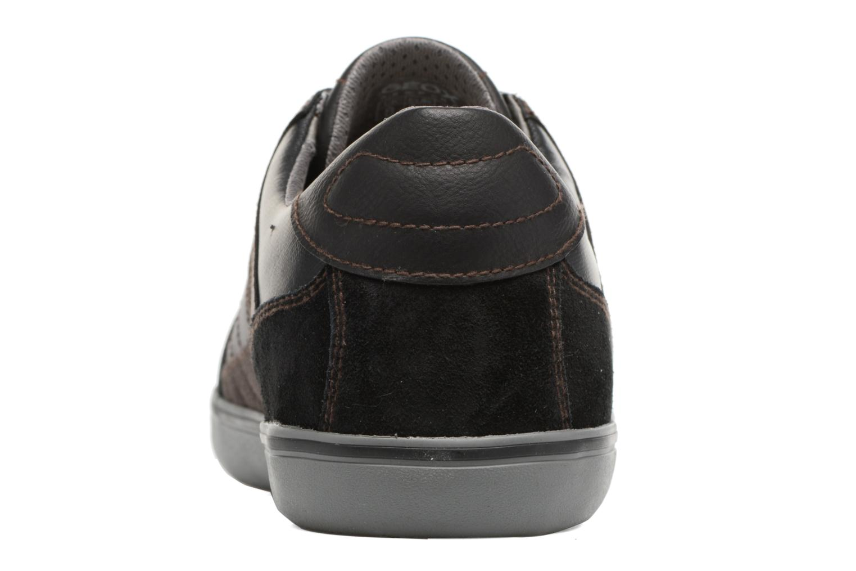 Baskets Geox U Box D U74R3D Noir vue droite