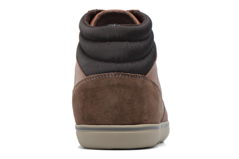 Sneakers Geox U Box J U74R3J Bruin rechts
