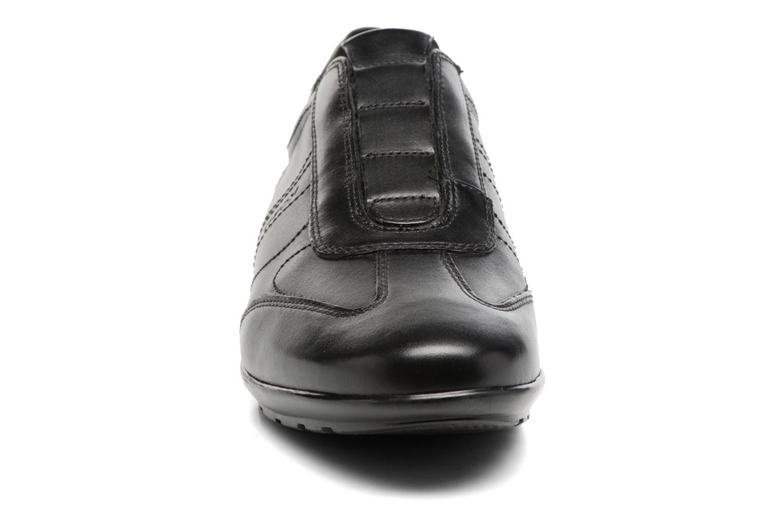 Baskets Geox U Symbol C U74A5C Noir vue portées chaussures
