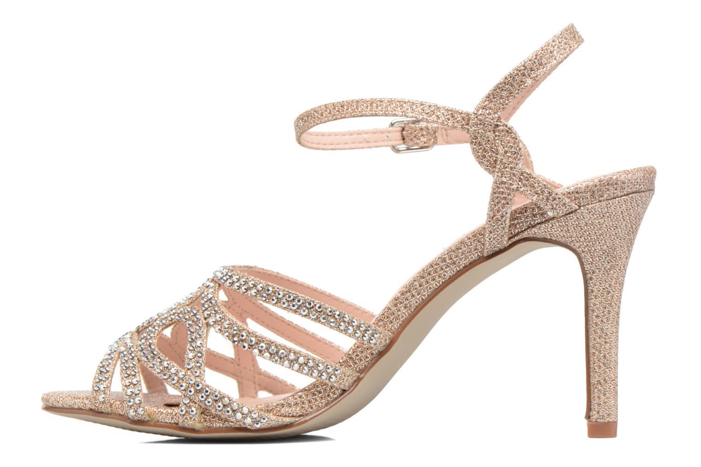 Sandales et nu-pieds Dorothy Perkins Sublime SD Or et bronze vue face