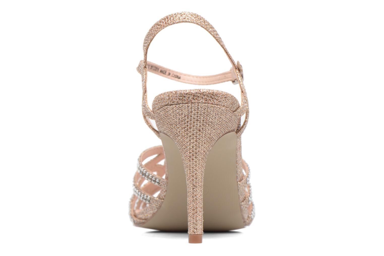Sandales et nu-pieds Dorothy Perkins Sublime SD Or et bronze vue droite