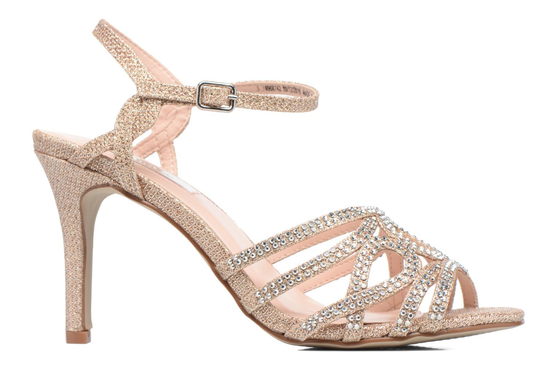 Sandales et nu-pieds Dorothy Perkins Sublime SD Or et bronze vue derrière