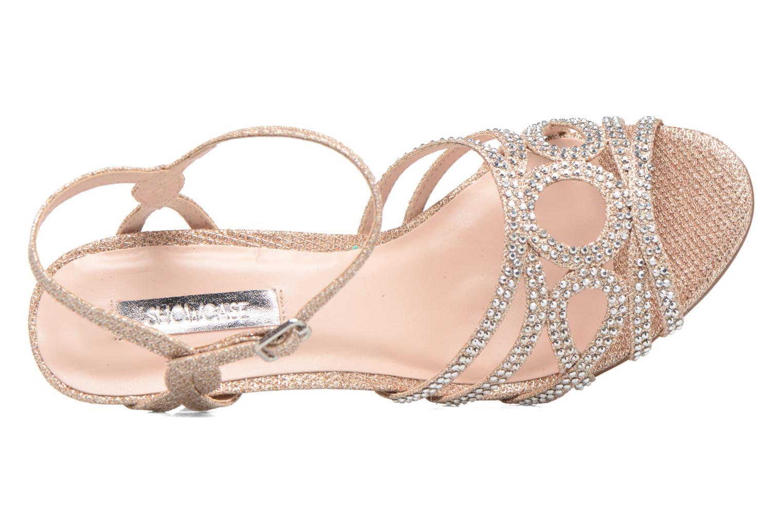 Sandales et nu-pieds Dorothy Perkins Sublime SD Or et bronze vue gauche