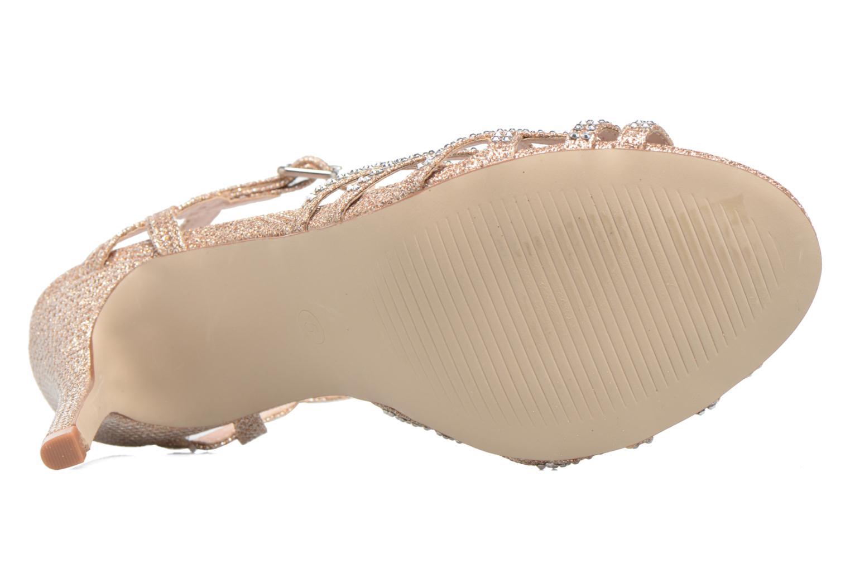 Sandales et nu-pieds Dorothy Perkins Sublime SD Or et bronze vue haut