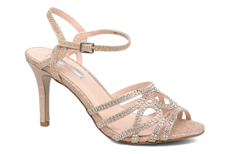 Sandales et nu-pieds Dorothy Perkins Sublime SD Or et bronze vue détail/paire