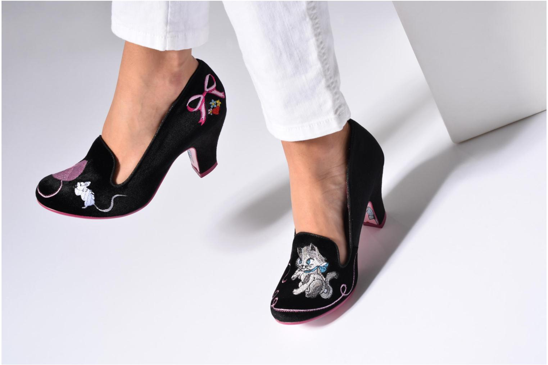 Mode-stijl Goedkope Prijs Vinden Grote Irregular choice Fuzzy Peg Zwart Comfortabele Online Te Koop yC2bVgC