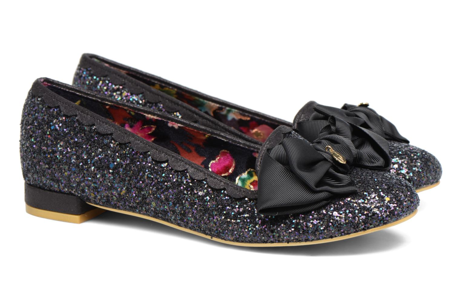 Ballet pumps Irregular choice Sulu Black 3/4 view