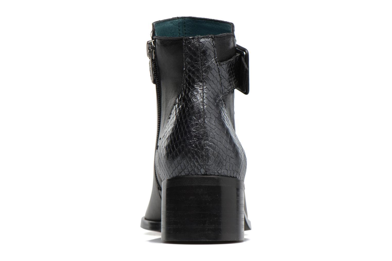 Boots en enkellaarsjes Karston GLECY Zwart rechts