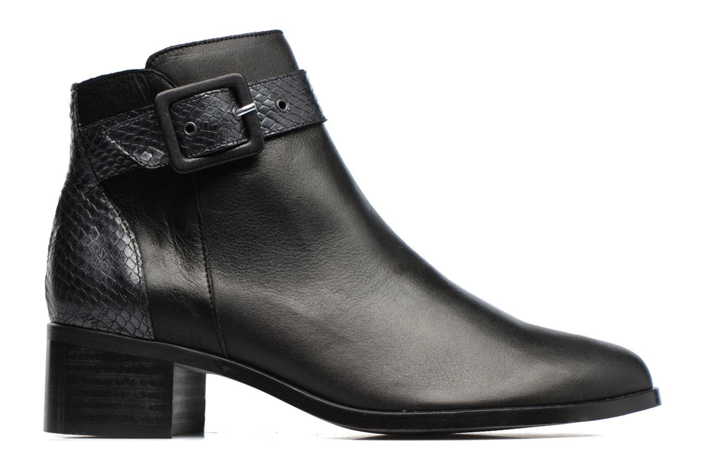 Boots en enkellaarsjes Karston GLECY Zwart achterkant