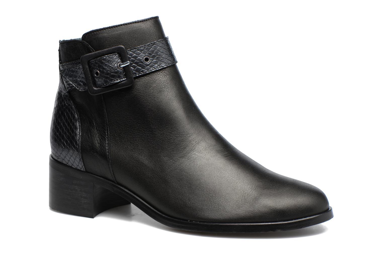Boots en enkellaarsjes Karston GLECY Zwart detail