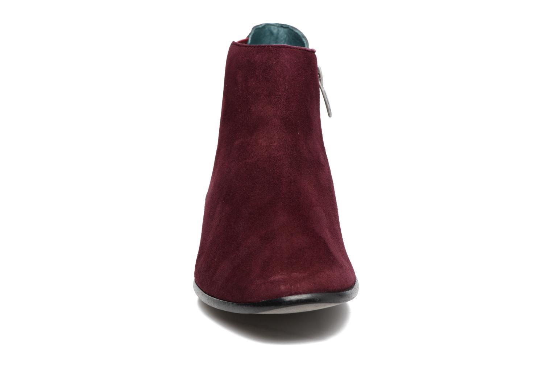 Stiefeletten & Boots Karston JONIL weinrot schuhe getragen