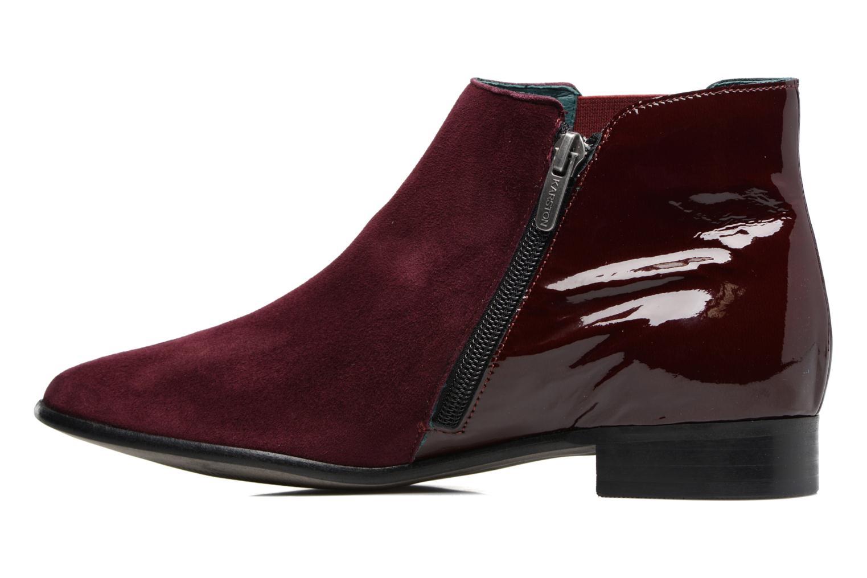 Bottines et boots Karston JONIL Bordeaux vue face