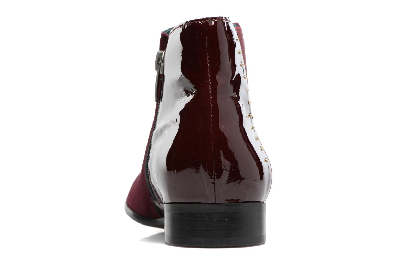 Boots en enkellaarsjes Karston JONIL Bordeaux rechts