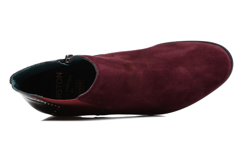 Bottines et boots Karston JONIL Bordeaux vue gauche