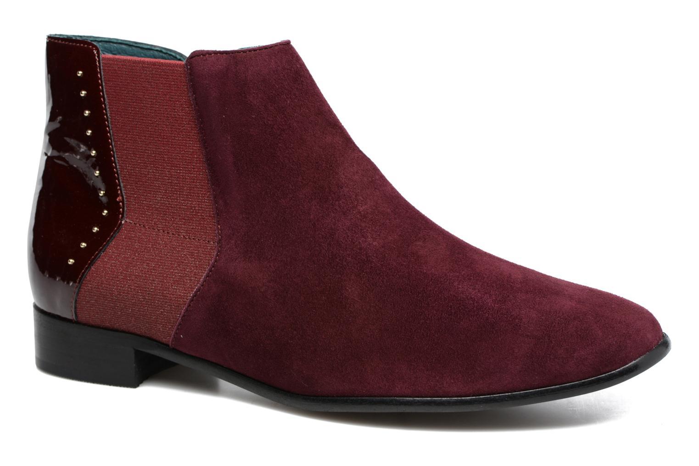 Bottines et boots Karston JONIL Bordeaux vue détail/paire