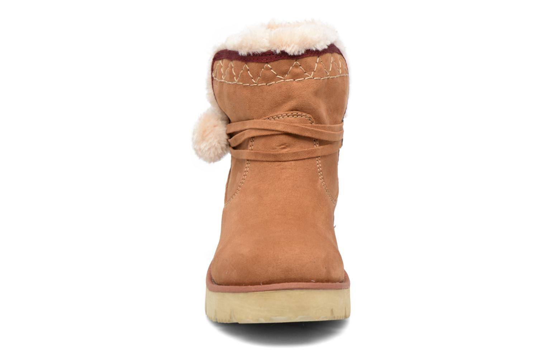 Bottines et boots S.Oliver Hicho Marron vue portées chaussures