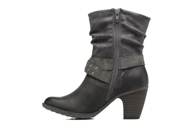 Bottines et boots S.Oliver Gemie Noir vue face