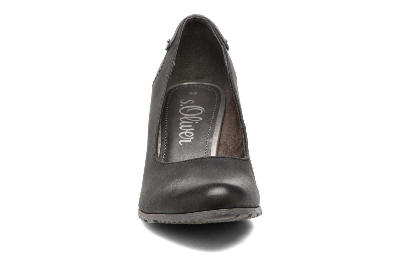 Escarpins S.Oliver Eva Noir vue portées chaussures