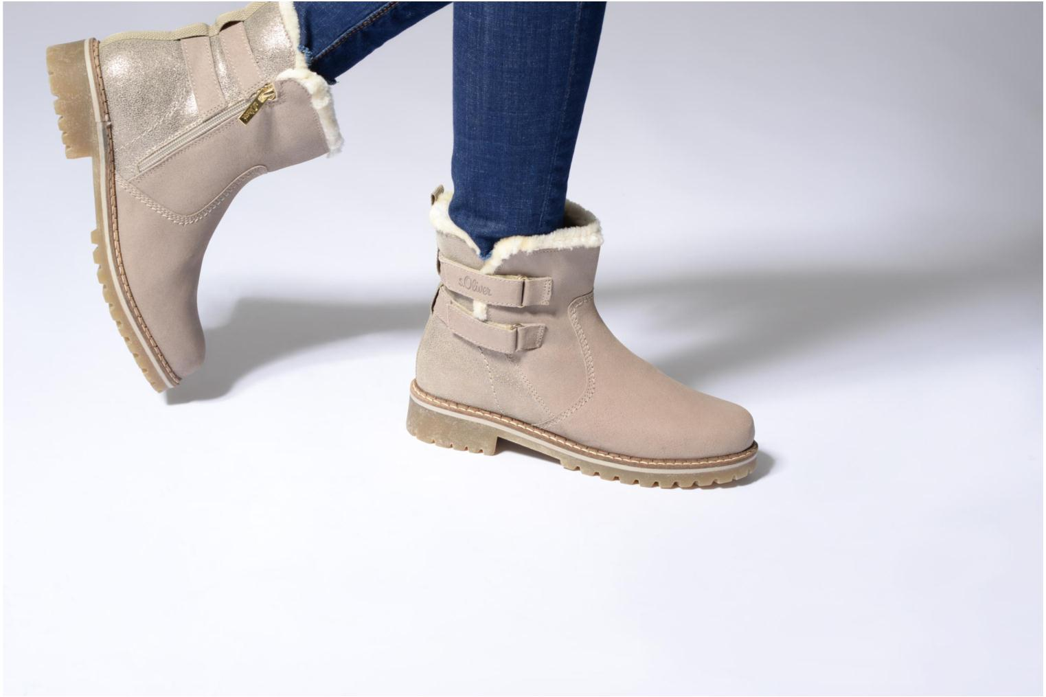 Ankle boots S.Oliver Nilma Beige view from underneath / model view
