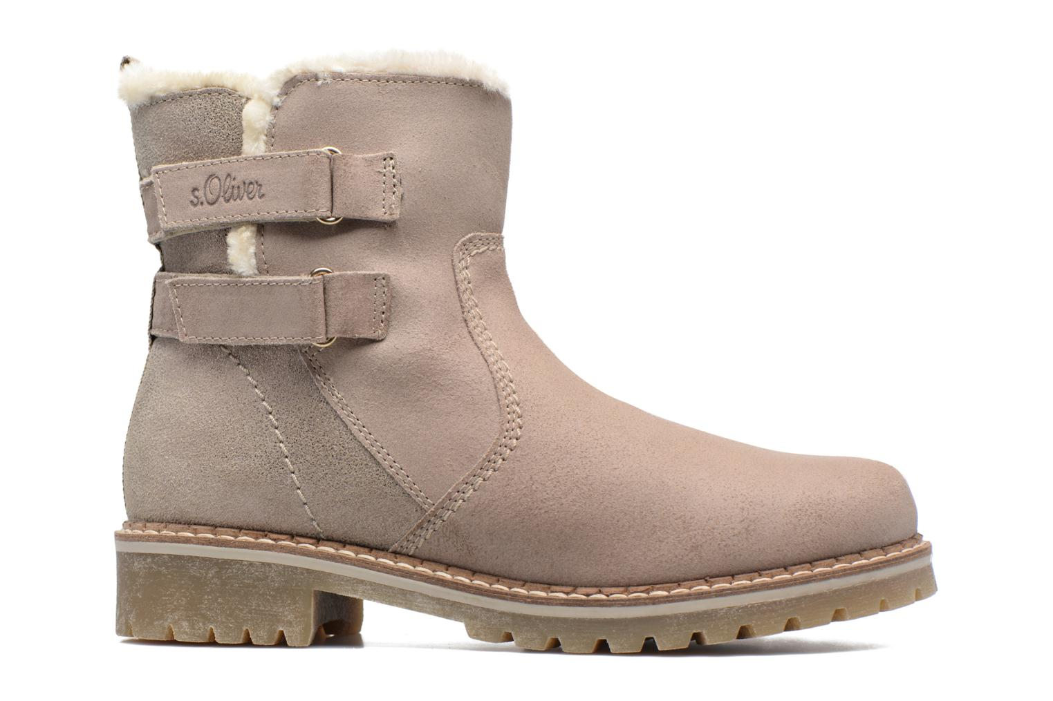 Ankle boots S.Oliver Nilma Beige back view